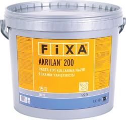 Fixa - Fixa Akrilan 200 Pasta Tipi Kullanıma Hazır Seramik Yapıştırıcısı