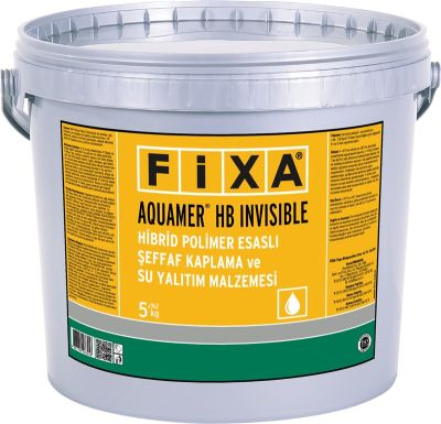 Fixa Aquamer HB Invisible Hibrid Polimer Esaslı Şeffaf Kaplama ve Su Yalıtım Malzemesi