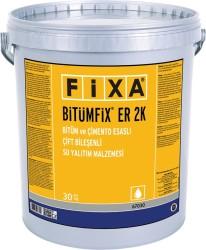 Fixa - Fixa Bitümfix ER 2K Bitüm ve Çimento Esaslı Çift Bileşenli Su Yalıtım Malzemesi 30 kg