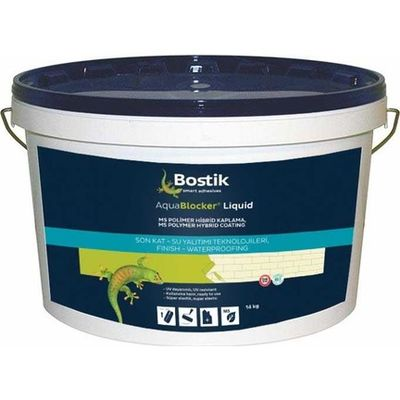 Bostik Aqua Blocker Liquid SMP Esaslı Su Yalıtım Malzemesi 14 kg