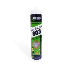 Bostik - Bostik Çekomastik 803 Isıya Dayanıklı Silikon 310 ml Kırmızı 25 adet koli