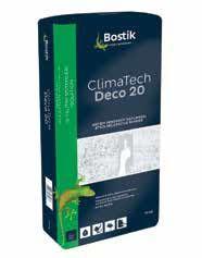 Bostik - Bostik ClimaTech Deco 20 S Dekoratif Kaplama Tane Dokulu 25 kg