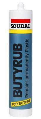 Soudal Butyrub Butilen Polimer Bazlı Buhar Yalıtımlı Mastik 300 ml Gri