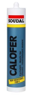Soudal Calofer 1500 Derece Isıya Dayanıklı Mastik 310 ml Gri