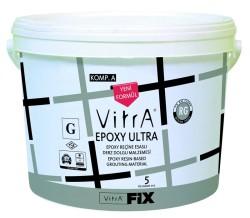 Vitra Fix - Vitra Fix Epoxy Ultra Özel Amaçlı Epoksi Reçine Esaslı Kimyasal Dayanımı Yüksek Kolay Silinebilen Derz Dolgu Malzemesi 5 kg