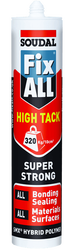 Soudal - Soudal Fix All High Tack Çok Güçlü MS Polimer Yapıştırıcı 290 ml