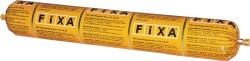 Fixa - Fixa EPDM Bond Nötral Silikon Esaslı EPDM Yapıştırıcısı Siyah 600 ml sosis 20 adet koli