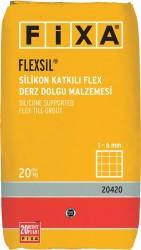 Fixa - Fixa Flexsil Silikon Katkılı Flex Derz Dolgu Malzemesi 1-6 mm Beyaz
