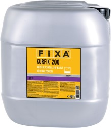 Fixa - Fixa Kürfix 200 Akrilik Esaslı Su Bazlı Kür Malzemesi