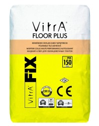 Vitra Fix - Vitra Fix Floor Plus Akışkan Karo Altında Yayılabilme Özelliğine Sahip Endüstriyel Zemin Porselen Karo Seramik Yapıştırıcısı 20 kg