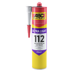 Sika - Sika ABC Ultra Light Hafif Dolgu Macunu 310 ml Beyaz 30 adet koli
