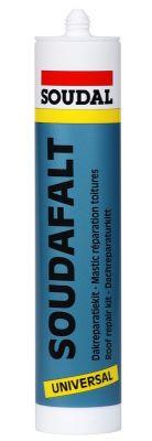 Soudal Soudafalt Bitum Bazlı Mastik Çatı Tamir Amaçlı Siyah 310 ml