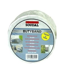 Soudal - Soudal Butyband Butil Esaslı Alüminyum İzolasyon ve Tamir Bandı 10 m