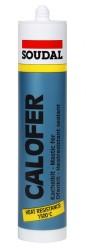 Soudal - Soudal Calofer 1500 Derece Isıya Dayanıklı Mastik 300 ml 15 adet koli