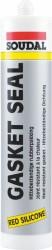 Soudal - Soudal Gasketseal 300 Dereceye Dayanabilen Isı Silikonu 310 ml Kırmızı 30 adet koli
