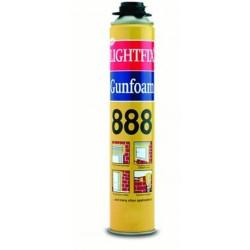 Soudal - Soudal Lightfix 888 Poliüretan Köpük Tabancalı 750 ml 12 adet koli