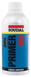 Soudal - Soudal Primer 150 Sentetik Reçine Silikon ve Hibrit Yüzey Dolgu Astarı 500 ml Şeffaf 6 adet koli