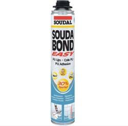 Soudal - Soudal Soudabond Easy Gun Mantolama Yapıştırıcı PU Köpük Turuncu Tabancalı 750 ml