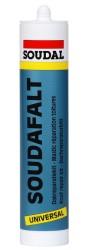 Soudal - Soudal Soudafalt Bitum Bazlı Mastik Çatı Tamir Amaçlı 310 ml Siyah 15 adet koli