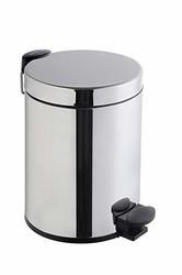 Artema - Artema Arkitekta Çöp Kovası Paslanmaz Çelik Pedallı 4,5 lt A44055