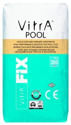Vitra Fix - Vitra Fix Pool Havuz için Yüksek Performanslı Porselen Karo Seramik Yapıştırıcısı 25 kg