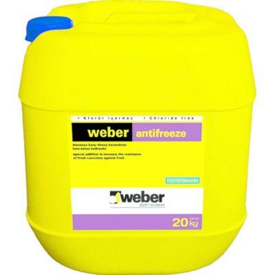 Weber Antifreeze Donmaya Karşı Direnç Kazandıran Harç ve Beton Katkısı 20 kg