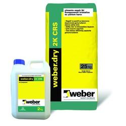Weber - Weber Dry 2K CRS Çimento Esaslı İki Komponentli Kristalize Su Yalıtım Harcı 27 kg set