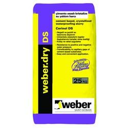 Weber - Weber Dry DS Çimento Esaslı Kristalize Su Yalıtım Harcı 25 kg