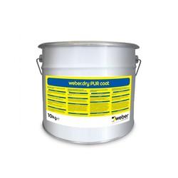 Weber - Weber Dry PUR Coat Poliüretan Esaslı UV Dayanımlı Son Kat Kaplama Ürünü 10 kg