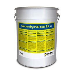 Weber - Weber Dry PUR Seal 2K Poliüretan Esaslı İki Bileşenli Elastik Su Yalıtım Ürünü 17,5 kg set