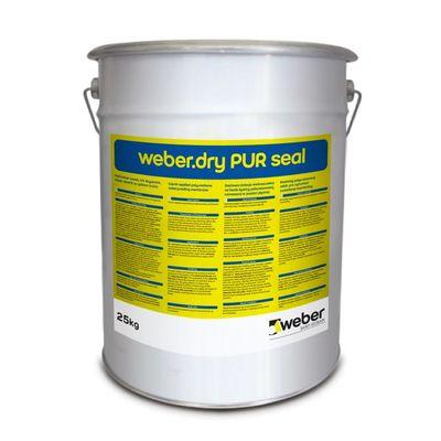 Weber Dry PUR Seal Poliüretan Esaslı UV Dayanımlı Süper Elastik Su Yalıtım Ürünü 25 kg