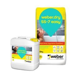 Weber - Weber Dry SS-7 Easy Çimento Esaslı Çift Komponentli Yarı Elastik Su Yalıtım Harcı 26 kg set