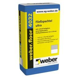 Weber - Weber Floor 4032 Çimento Esaslı Kendiliğinden Yayılan Tesviye Şapı 25 kg