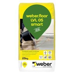 Weber - Weber Floor LVL 05 Smart Kendiliğinden Yayılan Tesviye Şapı 25 kg