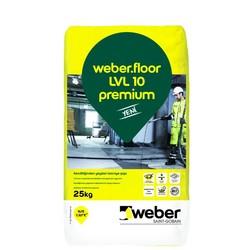Weber - Weber Floor LVL 10 Premium Kendiliğinden Yayılan Tesviye Şapı 25 kg