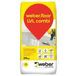Weber - Weber Floor LVL Combi Kendiliğinden Yayılan Kalsiyum Sülfat Esaslı Tesviye Şapı 25 kg