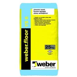 Weber - Weber Floor YS 6 Çimento Esaslı Kuvars Agregalı Yüzey Sertleştirici 25 kg
