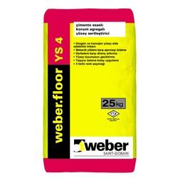Weber - Weber Floor YS 4 Çimento Esaslı Korunt Agregalı Yüzey Sertleştirici 25 kg
