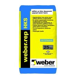 Weber - Weber Rep HKS Sülfat ve Klor Dayanımlı Yapısal Tamir Harcı Gri 25 kg