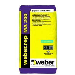 Weber - Weber Rep MA 200 Yapısal Tamir Harcı Gri 25 kg
