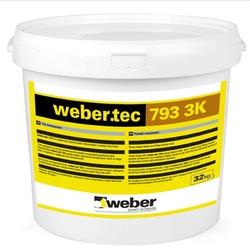 Weber - Weber Tec 793 3K Üç Bileşenli Solvent içermeyen Epoksi Esaslı Tamir ve Dolgu Harcı 40 kg set