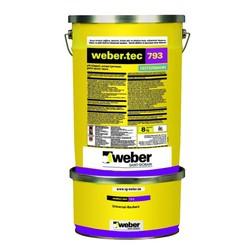 Weber - Weber Tec 793 Çift Bileşenli Solvent İçermeyen Şeffaf Epoksi Reçine 8 kg kombi set