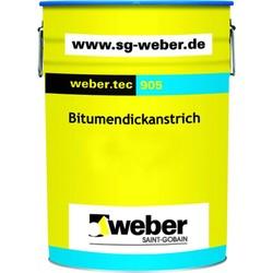 Weber - Weber Tec 905 Bitüm Esaslı Su Yalıtım Malzemesi 33 lt