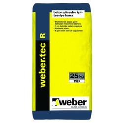 Weber - Weber Tec R Beton Yüzeyler için Tesviye Harcı Gri 25 kg