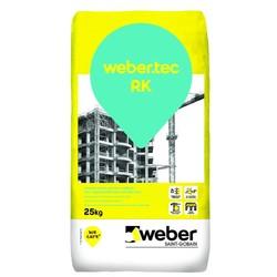 Weber - Weber Tec RK Beton Yüzeyler için Kalın Tesviye Harcı Gri 25 kg