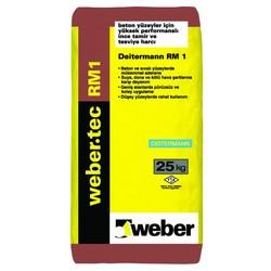 Weber - Weber Tec RM1 Yüksek Performanslı İnce Tamir ve Tesviye Harcı Gri 25 kg