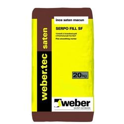 Weber - Weber Tec Saten Serpo Fill SF İnce Saten Macun Beyaz 20 kg