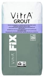 Vitra Fix - Vitra Fix Grout Yüksek Mukavemetli ve Yüksek Akıcılık Özelliğine Sahip Büzülme Yapmayan Grout Harcı Gri 25 kg